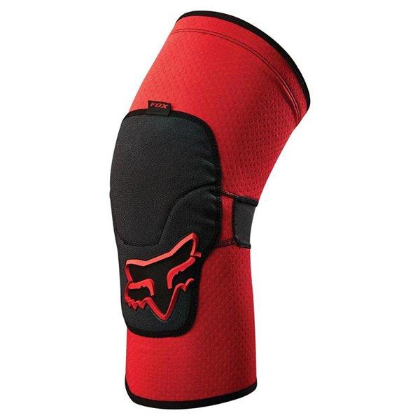 Наколенники Fox Launch Enduro Knee Pad, красный  (Размер: S (Ширина колена: 10.0 - 10.8 см))