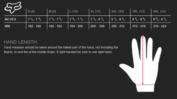 Велоперчатки Fox Forge CW Glove, черный (2016) (Размер: S (182-188 мм))