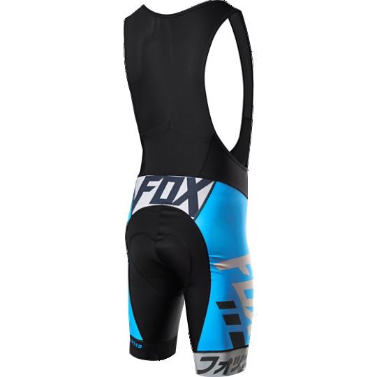 Велотрусы с лямками Fox Ascent Pro Bib, черно-синий, полиэстер (Размер M (15187-002-M))