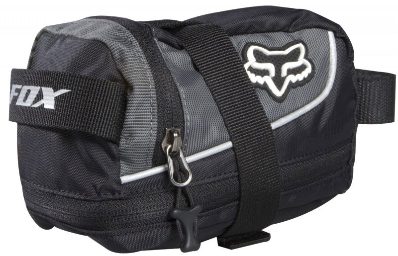 Сумка подседельная Fox Large Seat Bag, 18 х 12 х 10 см, черный, полиэстер/нейлон, 06550-001