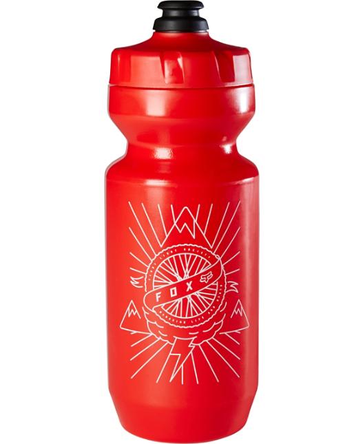 Фляга для воды Fox 22 FLS Bottle, красный, 660 мл, 18503-003-OS