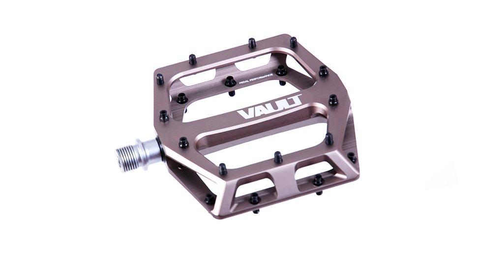 Педали DMR Vault Sandblast, серо-черный, сталь, DMR-VAULT-G