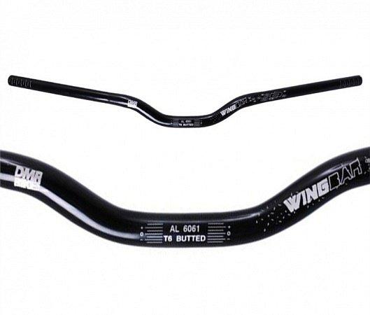 Руль DMR Wing Bar Alloy, 780x31.8x25, черный, DMR-WBAL3-1.1-K