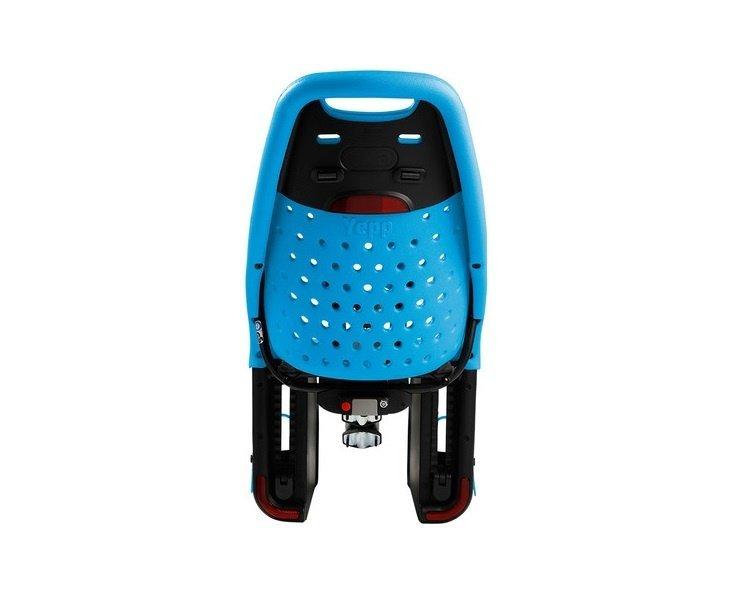 Детское велосипедное кресло Thule Yepp Maxi Seat Post, на раму, заднее, голубой, 12020232