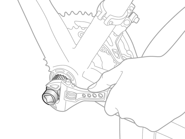 Ключ для картриджной каретки TOPEAK Cartridge Bottom Bracket Toll (TPS-SP18)