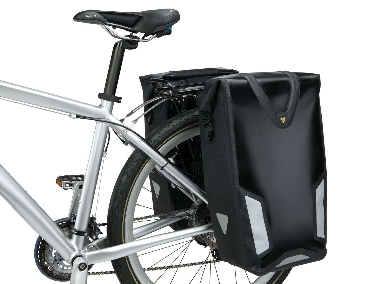 Велосумка на багажник Topeak Pannier Dry Bag DX,  черный,  TT9829B