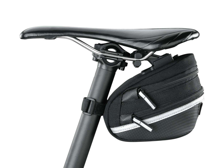 Подсёдельная велосумка TOPEAK Wedge Pack II, с креплением F25, сrain cover, большая, TC2273B