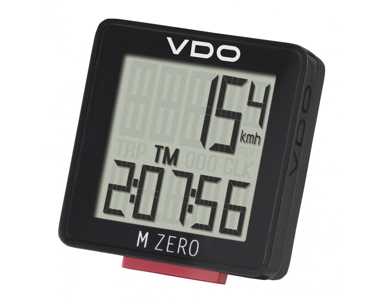 Велокомпьютер VDO M-ZERO WR, 5 функций, 3-строчный дисплей, черный, 4-3000