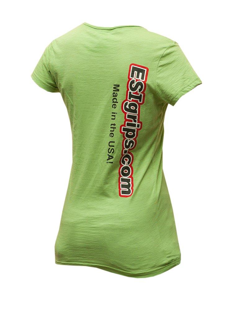 "Велофутболка ESI ""Women's T-Shirts"", зеленый (Размер M, (ESIWT-S-G-M))"