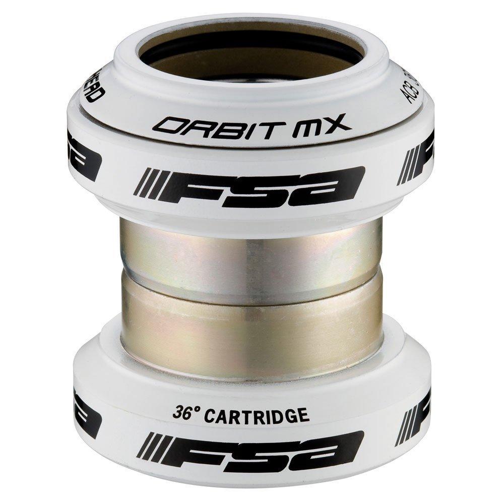 Рулевая колонка FSA ORBIT MX, шток 1.1/8, 98 грамм, белый, A6723