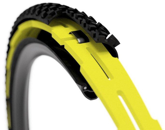 Система антипробоя для велосипеда HuckNorris, DH, HN-DH