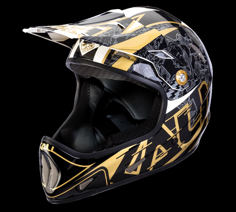 Велошлем Avatar X Galaxy, черно-золотой (Размер: M (57-58 см))