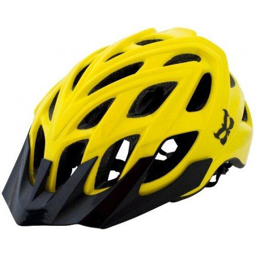 Велошлем KALI Chakra Logo, желтый (Размер: M/L (58-62 см))