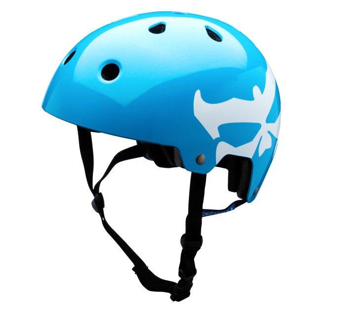 Велошлем KALI Maha Kali Logo, синий (Размер: S (55-56 см))
