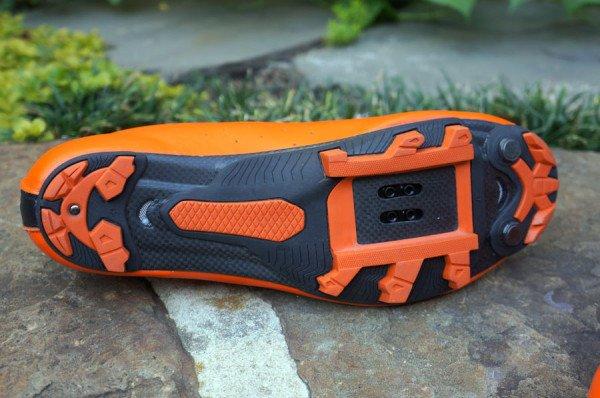 Велообувь Lake MX237-X, оранжево-черный (Размер: 46)