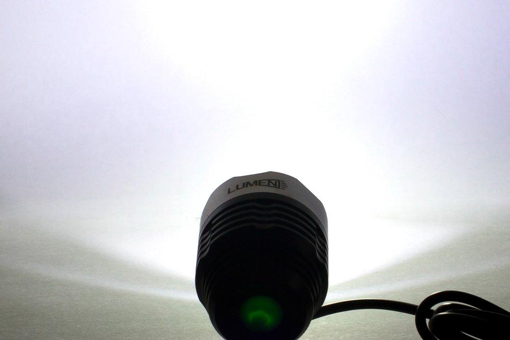 Фонарь передний Lumen 301, 1200 lumens, Cree XML-T6, черный, EBL301