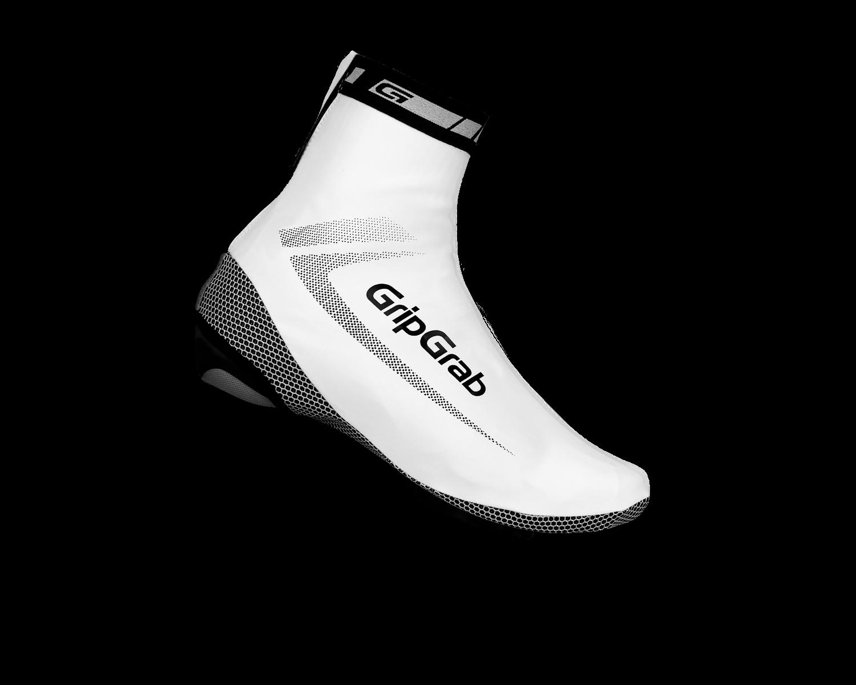 Велобахилы GripGrab RaceAqua, влагостойкие, ветрозащита, белый (Размер S)