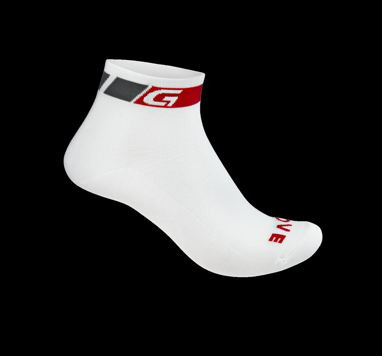 Велоноски GripGrab Summer Sock, низкий профиль, белый (Размер L (44-47))