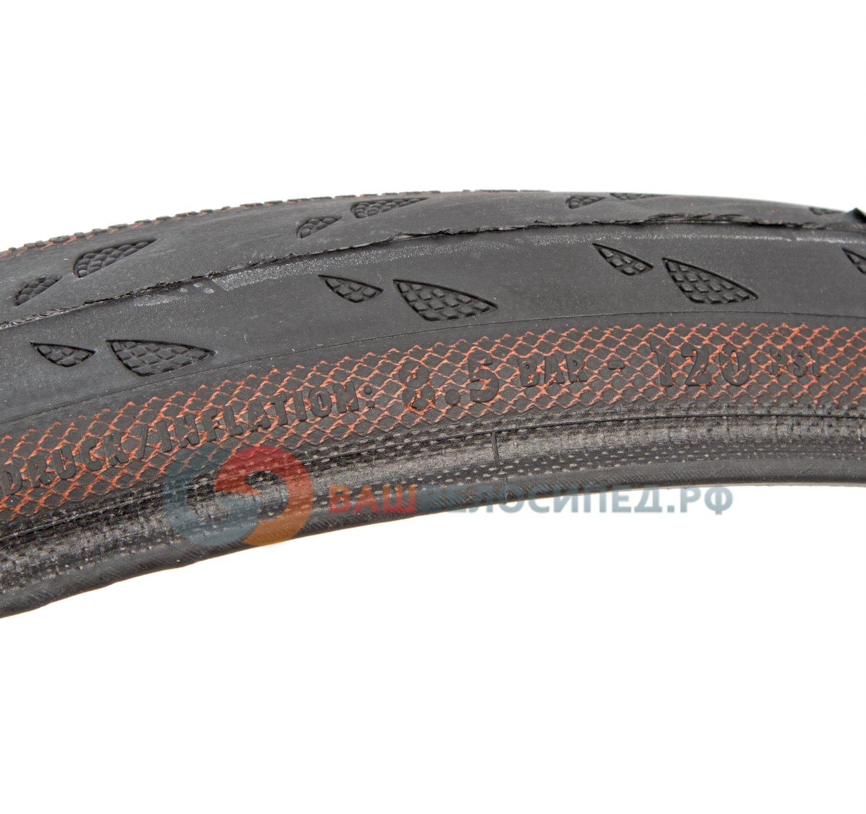 Велосипедная покрышка Continental Gator Skin, 700 x 25C, 25-622, борт-кевлар