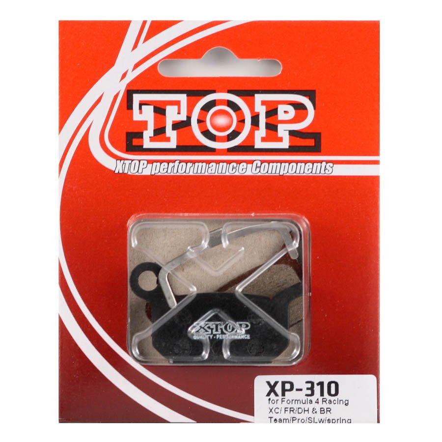 Тормозные колодки X-Top Formula 4 Racing XC/ FR/DH & BR Team/Pro/SLw/spring, Gold, XP-310S