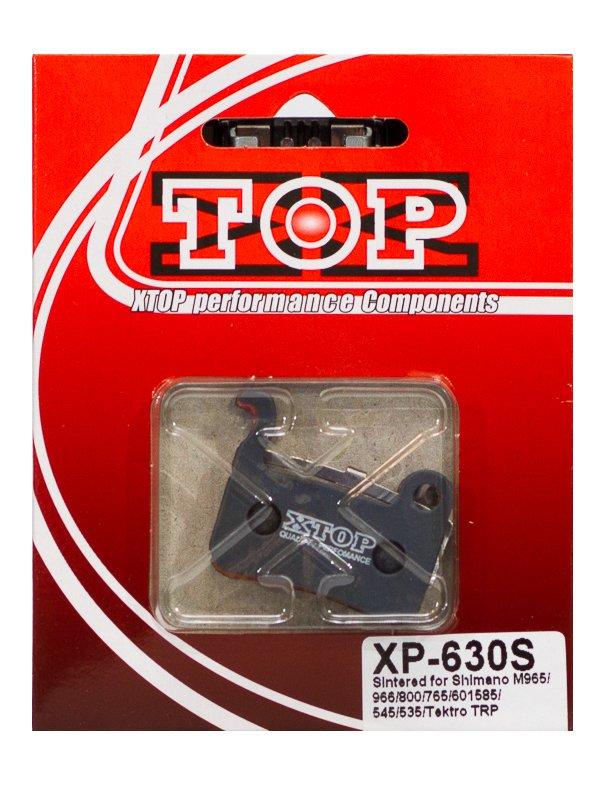 Тормозные колодки X-Top Shimano XTR/XT/SAINT/LX/HONE/DEORE, Gold, XP-630S