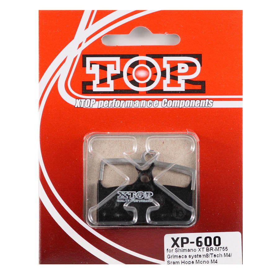 Тормозные колодки X-Top Shimano XT M755, Grimeca 8/Sram/Hope Mono M4/Tech M4, Gold, XP-600S
