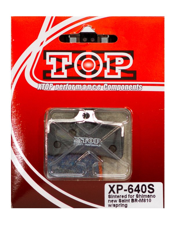 Тормозные колодки X-Top Shimano Saint BR-M810, Gold, XP-640S