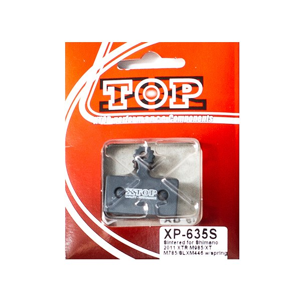 Тормозные колодки X-Top Shimano 2011 XTR M985/XT M785/SLXM446, Gold, XP-635S