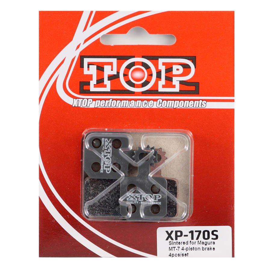 Тормозные колодки X-Top Magura MT-7 4-piston brake 4pcs/set, Gold, XP-170S