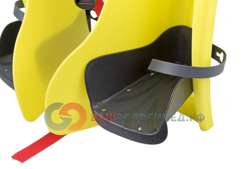 Сиденье детское TUV BELLEL.на багажник Little Duck (3) Hi-Viz,  до 7лет /22 кг, (Италия) 0-280235