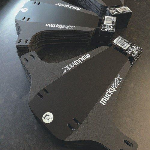 Крыло переднее Mucky Nutz Face Fender Reflective, серый, MN0104