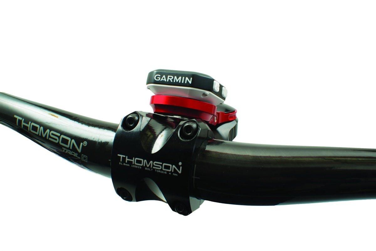 Крепление для велокомпьютера K-EDGE Garmin Stem Mount Adjustable, черный, K13-530-BLK