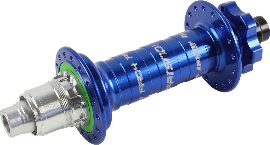 Втулка задняя для фэтбайка, Hope PRO 4 Fatsno Rear 32H Blue, ось 12x197мм XD, СИНЯЯ, RHP432B19712TXD