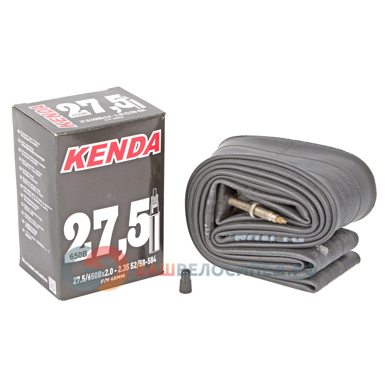 """Камера для велосипеда KENDA 27.5""""х2.00-2.35 (52/58-584) спортниппель 48мм 5-511265"""