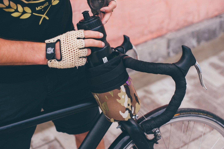 """Велосумка ВелоХорошо """"Всячина Bag"""", 10см* 18см, камуфляж, BT01"""