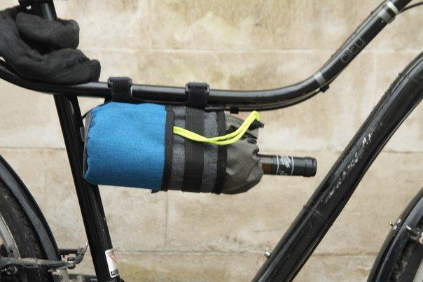 """Велосумка ВелоХорошо """"Всячина Bag"""", 10см* 18см, синий, BT02"""