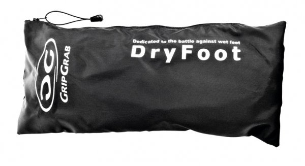 Велобахилы GripGrab DryFoot, черные. (Размер - L (42-43))