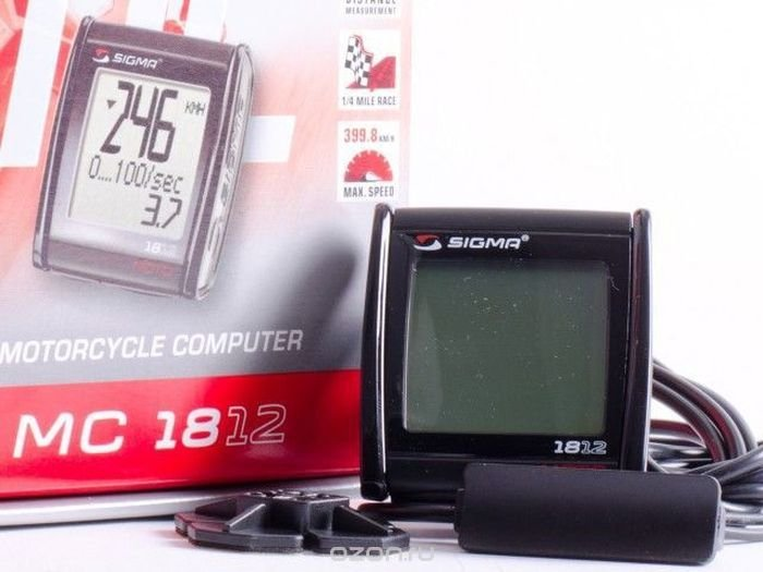 Мотокомпьютер Sigma Sport МC 18.12, 01813