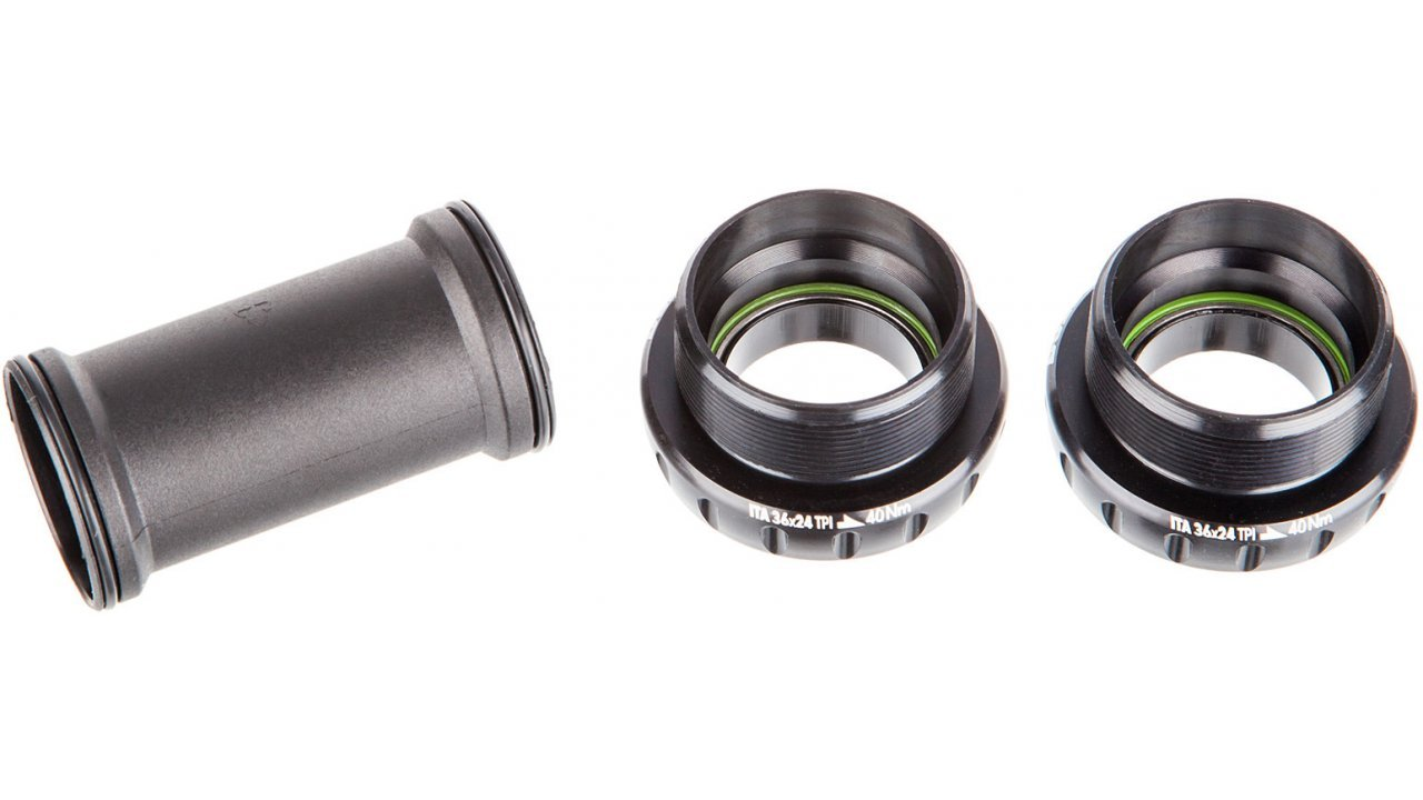 Каретка Rotor BB1 Road ITA 70mm Steel Black (C04-002-01010-0)