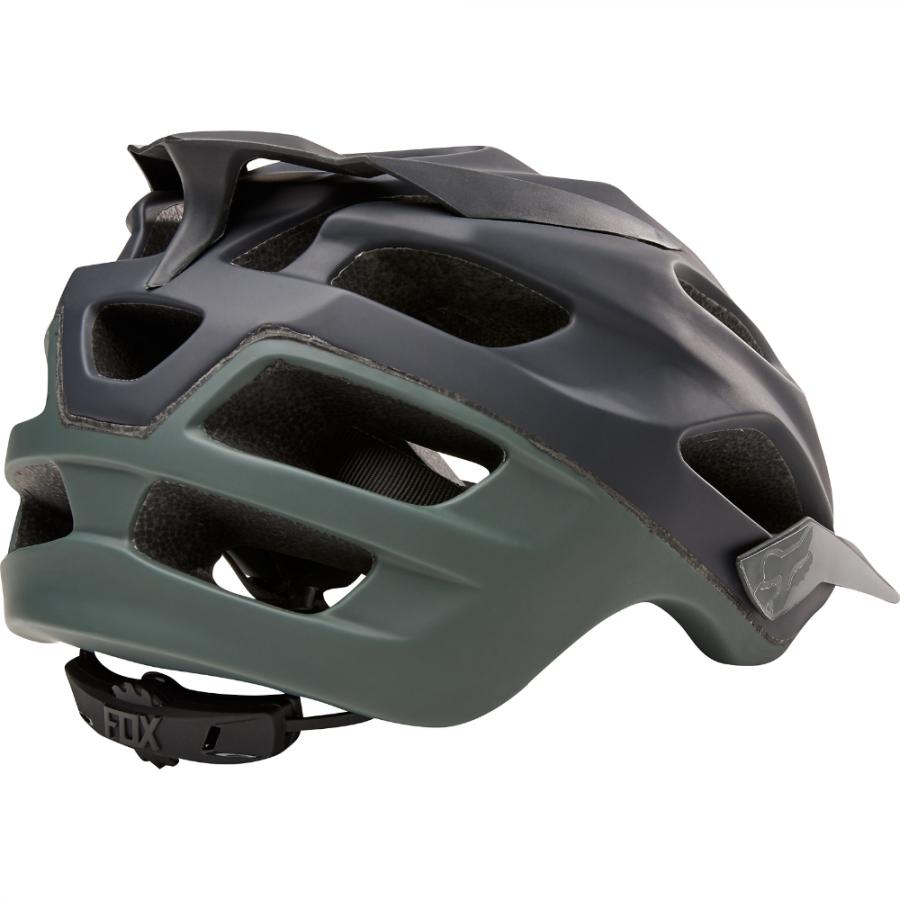 Велошлем Fox Flux Creo Helmet темно-зеленый  (Размер: L/XL (59-64 см))