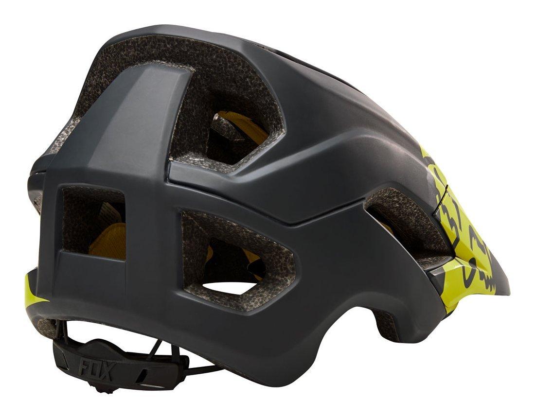 Велошлем Fox Metah Thresh Helmet черно-желтый  (Размер: M/L (56-60 см))