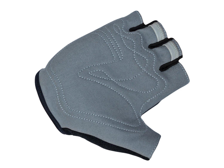 Перчатки AUTHOR Team X6, неоново-желто-черные, синтетическая кожа/неопрен, с петельками  (Размер: M)