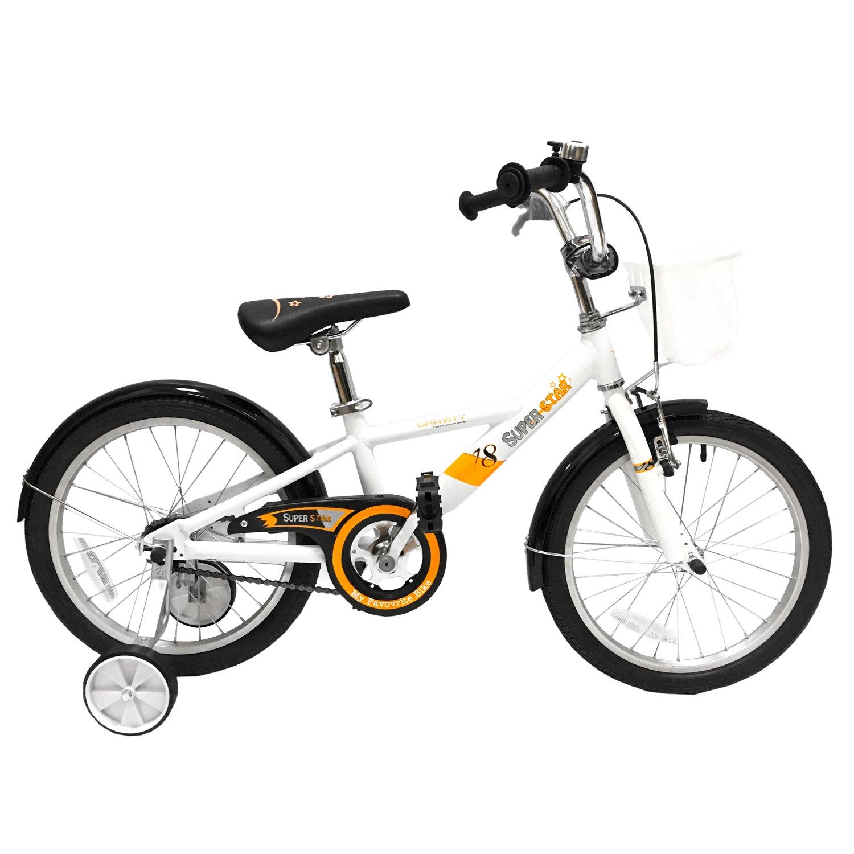 Детский велосипед Gravity SUPERSTAR 20 2017 (Рама: 230 мм (Рост: 115-135 см) Цвет: белый).
