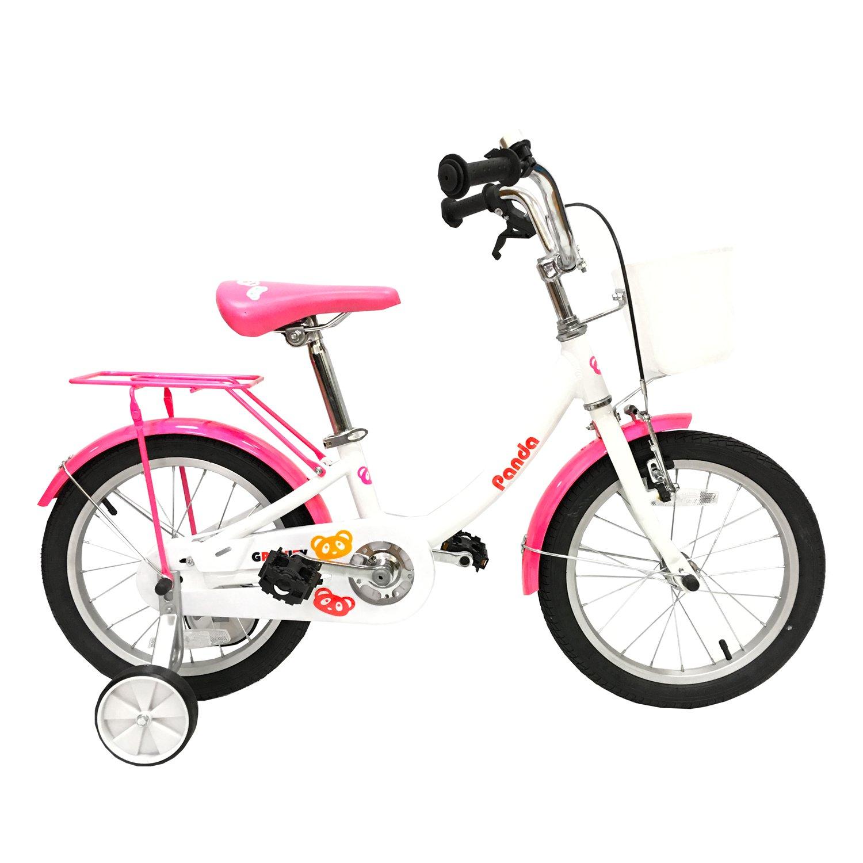 Детский велосипед Gravity PANDA 16 2017 (Колеса: 16 (Возраст:  4 - 8 лет) Цвет: бело-голубой).