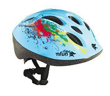 Велошлем детский 'NFUN POLLOCK, 8 отверстий, голубой, 01-10001 (Размер: 48-52см )