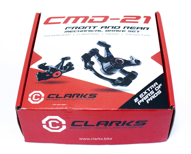 Тормозной набор механический дисковый задний CMD-21 CLARKS, 3-448