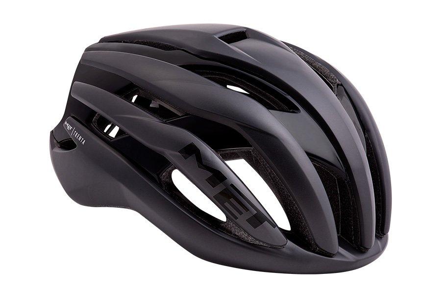 Велошлем Met Trenta, матовый черный 2018 (Размер: L (58-61 см))