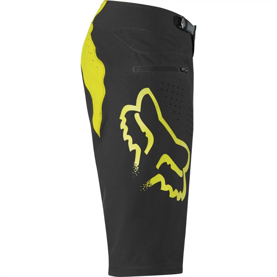 Велошорты Fox Flexair Short, черно-желтый 2017 (Размер: W34 (L))
