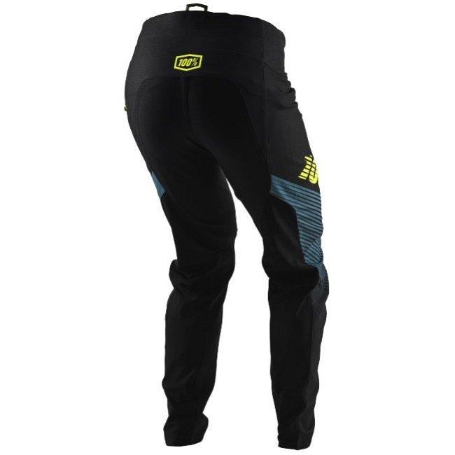 Велоштаны 100% R-Core-X DH Pants, черный 2018 (Размер: W34 (L))