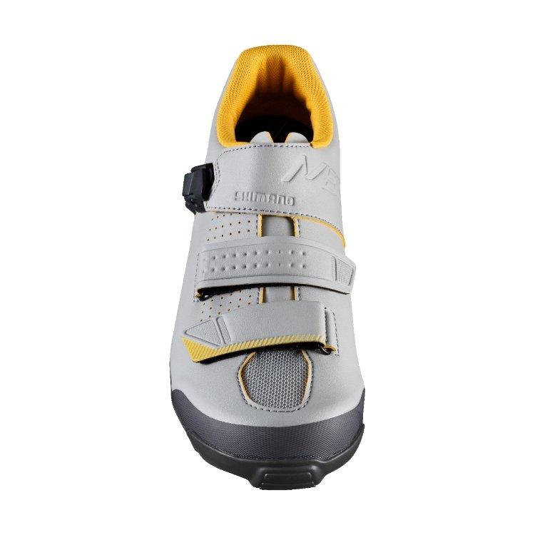 Велотуфли Shimano SH-ME300, серо-желтый (Размер: 40)